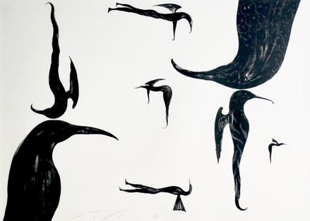 Bill Hammond Lithograph