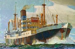 steam ship, banana boat