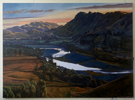 Dark River Valley - Dick Frizzell