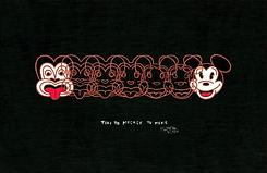 Mickey Mouse, tiki