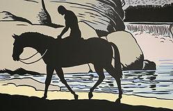 Phantom on horseback