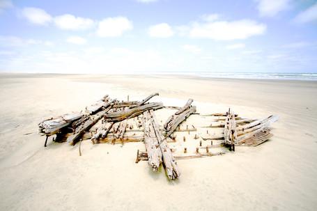 Ships Graveyard Kaipara - Grant Marshall