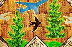 swallows, planes