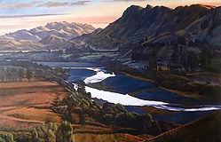 River, valley landscape