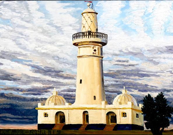 Sydney Light House - Dick Frizzell