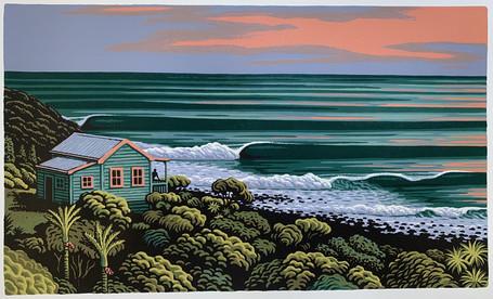 Wave Haven Raglan - Tony Ogle