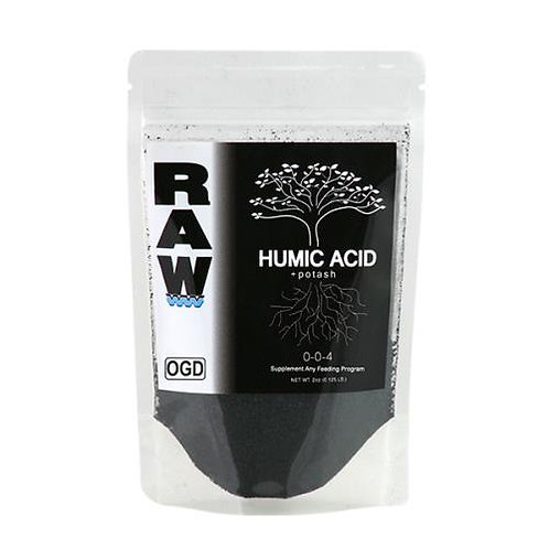 RAW Humic Acid 0 - 0 - 4 (8 ounces)