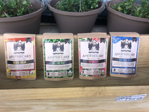 CBD TEA Variety Bundle from The Brothers Apothecary (4 packs of 3)