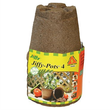 Jiffy Peat Pots 4 in. Round / 6pk