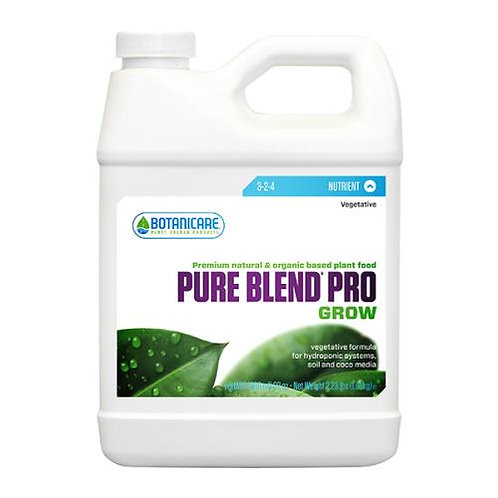 Botanicare® Pure Blend® Pro Grow Formula 3 - 2 - 4, quart
