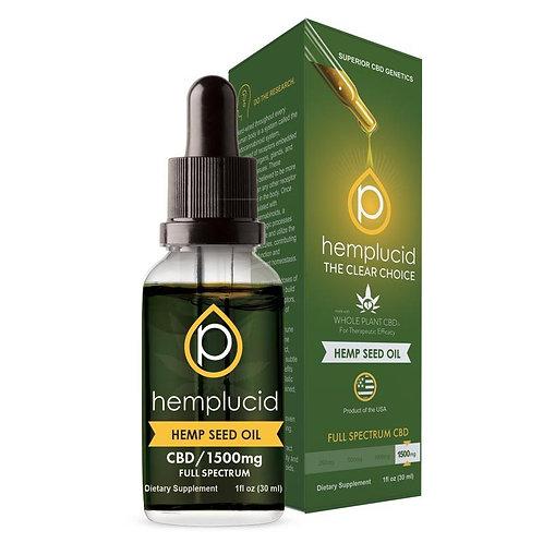 Hemplucid 1500mg CBD Hemp Seed Oil