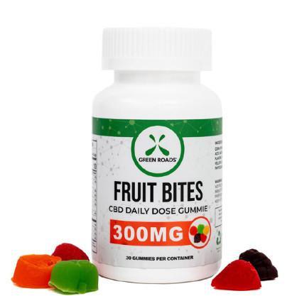 Green Roads 300mg CBD Fruit BItes Gummies
