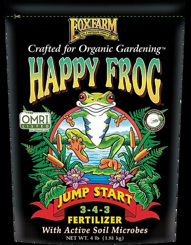 FoxFarm Happy Frog® Jump Start Fertilizer, 4 lb bag