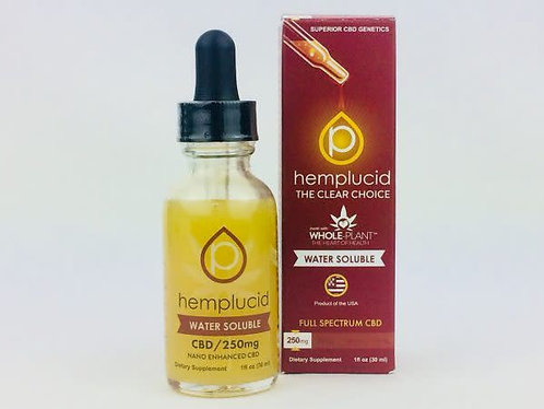 Full-Spectrum CBD Water Soluble Hemplucid