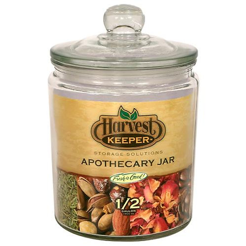 Harvest Keeper 1/2 Gal. Apothecary Jar