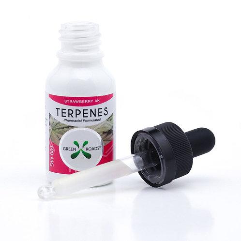 Strawberry AK Terpenes CBD Oil, 100mg CBD w/ Terpenes