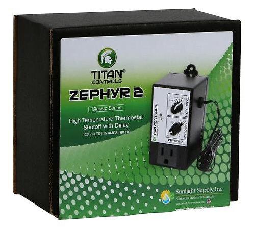 Titan Controls® Zephyr™ 2 - High Temperature Shut-Off with Delay