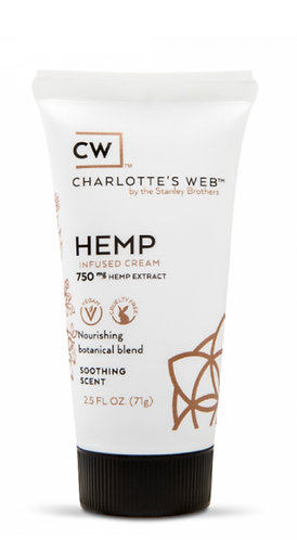 Charlotte's Web Hemp Cream Scented
