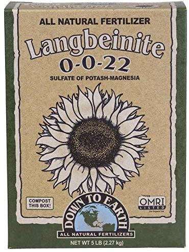 Down To Earth™ Langbeinite (Sul-Po-Mag) 0 - 0 - 22 5lbs
