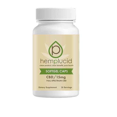 Hemplucid Soft gel Caps, 450mg CBD