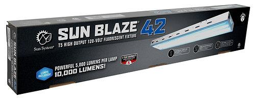 Sun Blaze T5 HO 42 - 4 ft 2 Lamp - 120 Volt