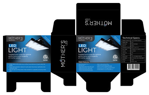 Mother's LED Blue/white spectrum