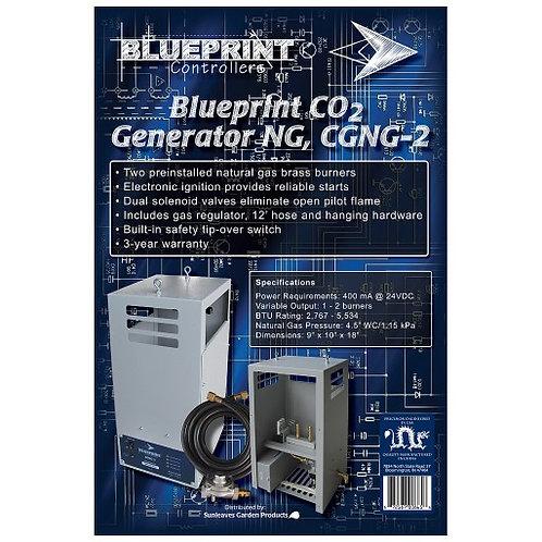 Blueprint CO2 generator NG, CGNG-2