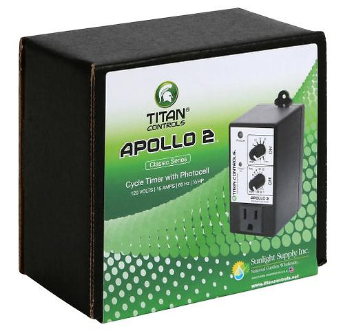 Titan Controls® Apollo® 2 - Cycle Timer with Photocell