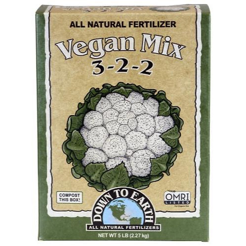 Down To Earth™ Vegan Mix 3 - 2 - 2 6lbs