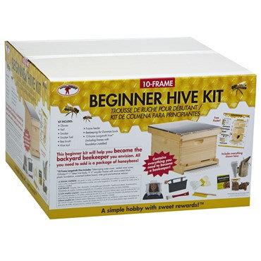 Miller 10 Deluxe Complete Bee Hive Kit
