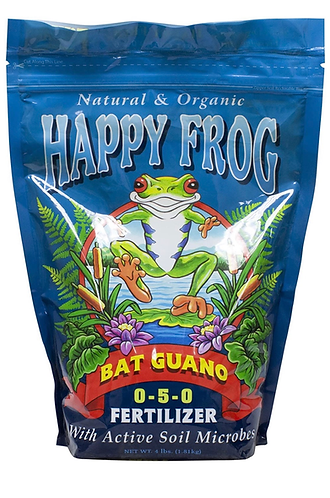 FoxFarm® Happy Frog® Bat Guano® Fertilizer 0-5-0 4lb Bag