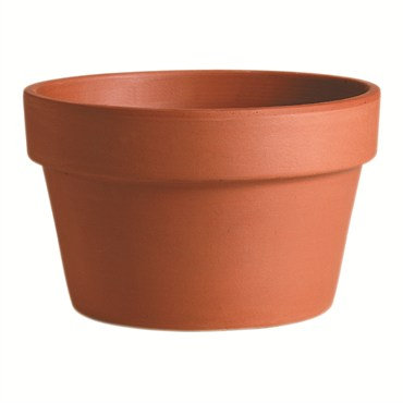 Deroma® Clay Pot - Azalea Terra Cotta - 8.3in Diam
