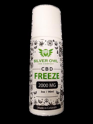 Silver Owl CBD Freeze