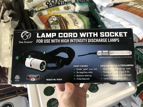 Lamp Cord with Socket