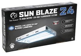 Sun Blaze T5 HO 24 - 2 ft 4 Lamp - 120 Volt