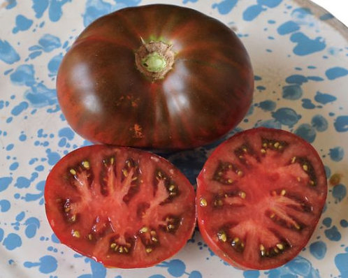 "Baker Creek Heirloom Seeds ""PAUL ROBESON TOMATO"""