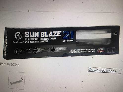 Sun Blaze T5 HO Supreme 21 - 2 ft 1 Lamp