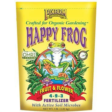 FoxFarm® Happy Frog® Fruit and Flower 5-8-4 4lb Bag