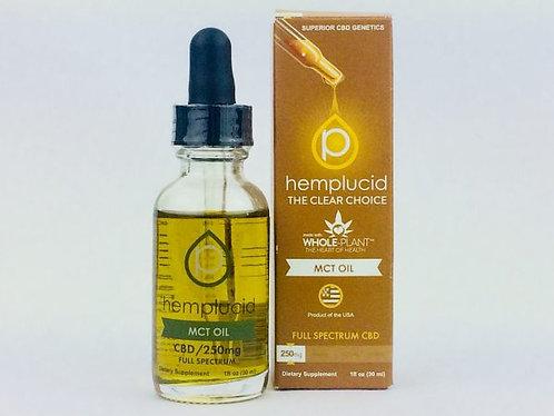 Hemplucid Full-Spectrum CBD in MCT Oil Tincture
