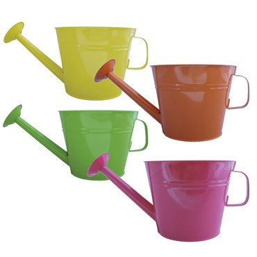 Grower Select® Watering Can Planter Assorted Colors - 10in