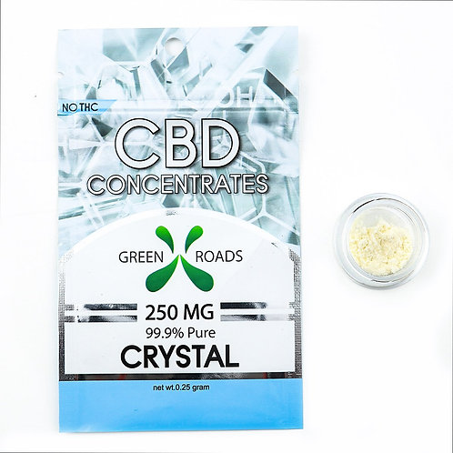 Pure CBD Isolate Crystal 250mg