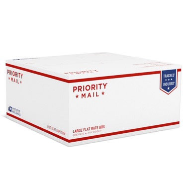 Large Priorty Shipping Box