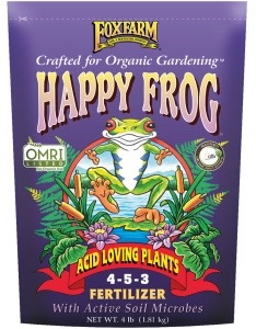 FoxFarm® Happy Frog® Acid Loving Plants Fertilizer 4-5-3 4lb Bag