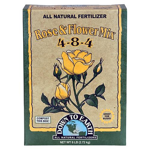 Down To Earth™ Rose & Flower Mix 4 - 8 - 4 6lbs