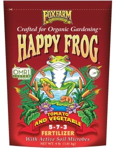 FoxFarm Happy Frog® Tomato & Vegetable Fertilizer, 4 lb bag