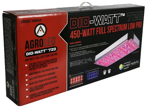 AgroLED® Dio-Watt™ 720, 450W Full Spectrum Low Pro