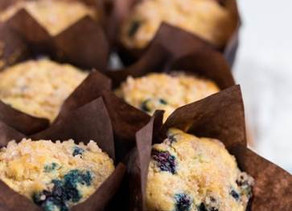 Kosher Blueberry Muffins (Dairy or Pareve)