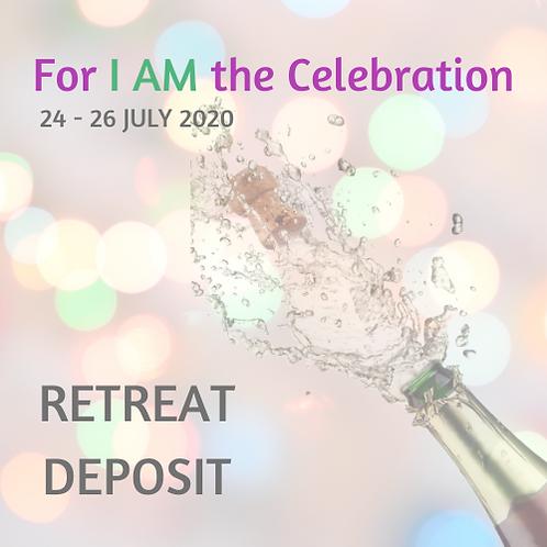 July 2020 Retreat Deposit