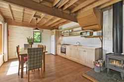 Kitchen @ King Parrot Cottages