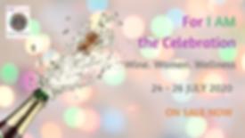 For I AM the Celebration FB Event Cover.